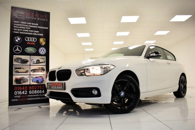 2017 17 BMW 1 SERIES 116D SPORT 3 DOOR
