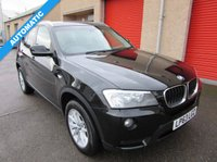 2013 BMW X3 2.0 XDRIVE20D SE 5d 181 BHP £13795.00