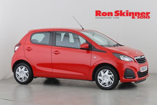 View our 2016 66 PEUGEOT 108 1.0 ACTIVE 5d 68 BHP