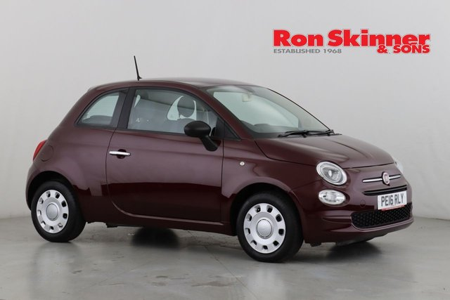 View our 2016 16 FIAT 500 1.2 POP 3d 69 BHP