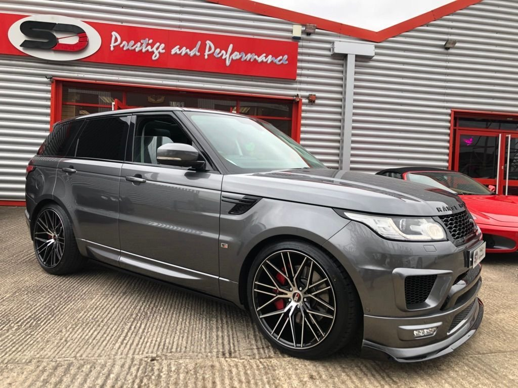 USED 2015 15 LAND ROVER RANGE ROVER SPORT 3.0 SD V6 HSE 4X4 (s/s) 5dr SD DESIGN + PANORAMIC ROOF