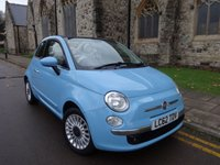 USED 2012 62 FIAT 500 1.2 C LOUNGE 3d 69 BHP ++ AIR CON ++ BLUETOOTH ++