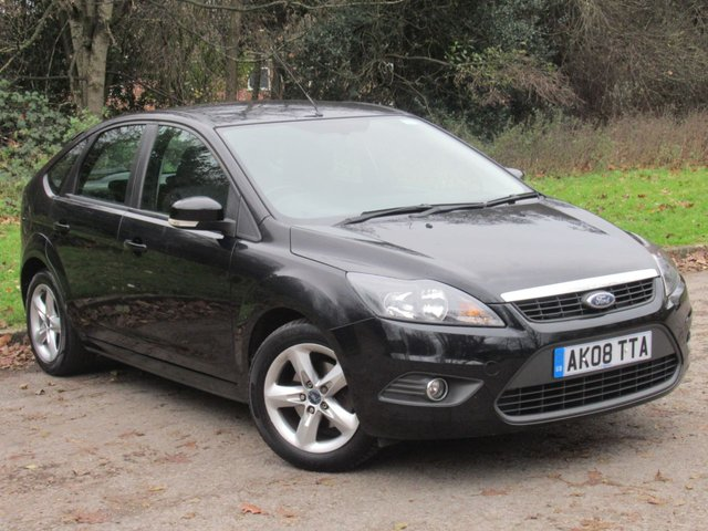 USED 2008 08 FORD FOCUS 1.6 ZETEC 5d 100 BHP LOW MILEAGE POPULAR FAMILY HATCHBACK