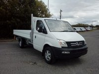 2019 LDV V80 LDV V80 4.1 Mt Alloy Dropside, Alloy wheels, Air Con, 5 Year warranty £12999.00
