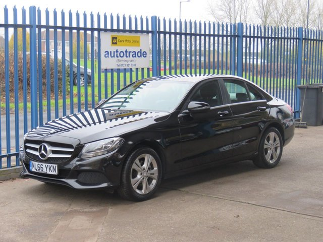 USED 2016 66 MERCEDES-BENZ C-CLASS 2.1 C 220 D SE EXECUTIVE EDITION 4dr 170 Sat nav Leather Rear camera Cruise Bluetooth ULEZ compliant Sat Nav,Faux Leather Interior,Heated Seats,Service History