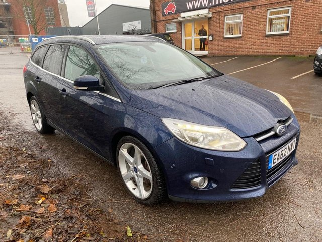 USED 2012 62 FORD FOCUS 1.6 TITANIUM X TDCI 5d 113 BHP LOOKS AND DRIVES SUPERB , HEATED SEATS , BLUETOOTH , FORD POWER START BUTTON .