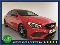 USED 2016 66 MERCEDES-BENZ CLA 1.6 CLA 180 AMG LINE 4d 121 BHP FULL MERCEDES HISTORY - 1 OWNER - REAR SENSORS - HALF LEATHER - AIR CON - BLUETOOTH - PRIVACY
