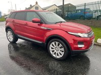 2013 LAND ROVER RANGE ROVER EVOQUE 2.2 SD4 PURE TECH panroof,nav,heated leather  £14995.00