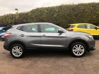 USED 2014 14 NISSAN QASHQAI 1.5 DCI ACENTA SMART VISION 5dr LOW MILEAGE AND FREE ROAD TAX  NO DEPOSIT  PCP/HP FINANCE ARRANGED, APPLY HERE NOW