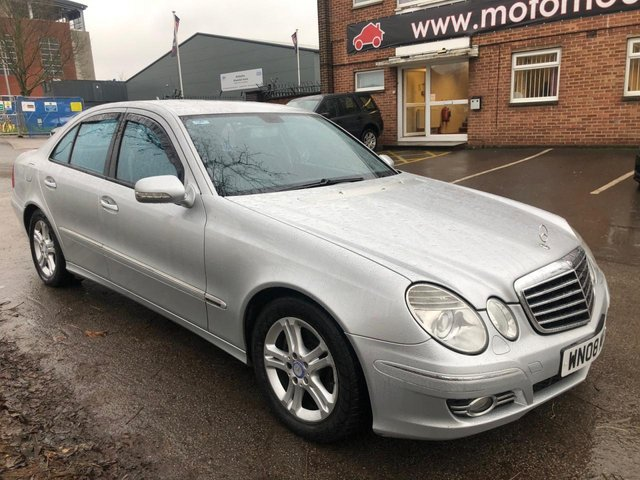 USED 2008 08 MERCEDES-BENZ E CLASS 2.1 E220 CDI AVANTGARDE 4d 168 BHP EXCELLENT EXAMPLE WITH LEATHER INTERIOR, ALLOY WHEELS, 4X ELECTRIC WINDOWS, ELECTRIC DOOR MIRRORS, AIR CONDITIONING