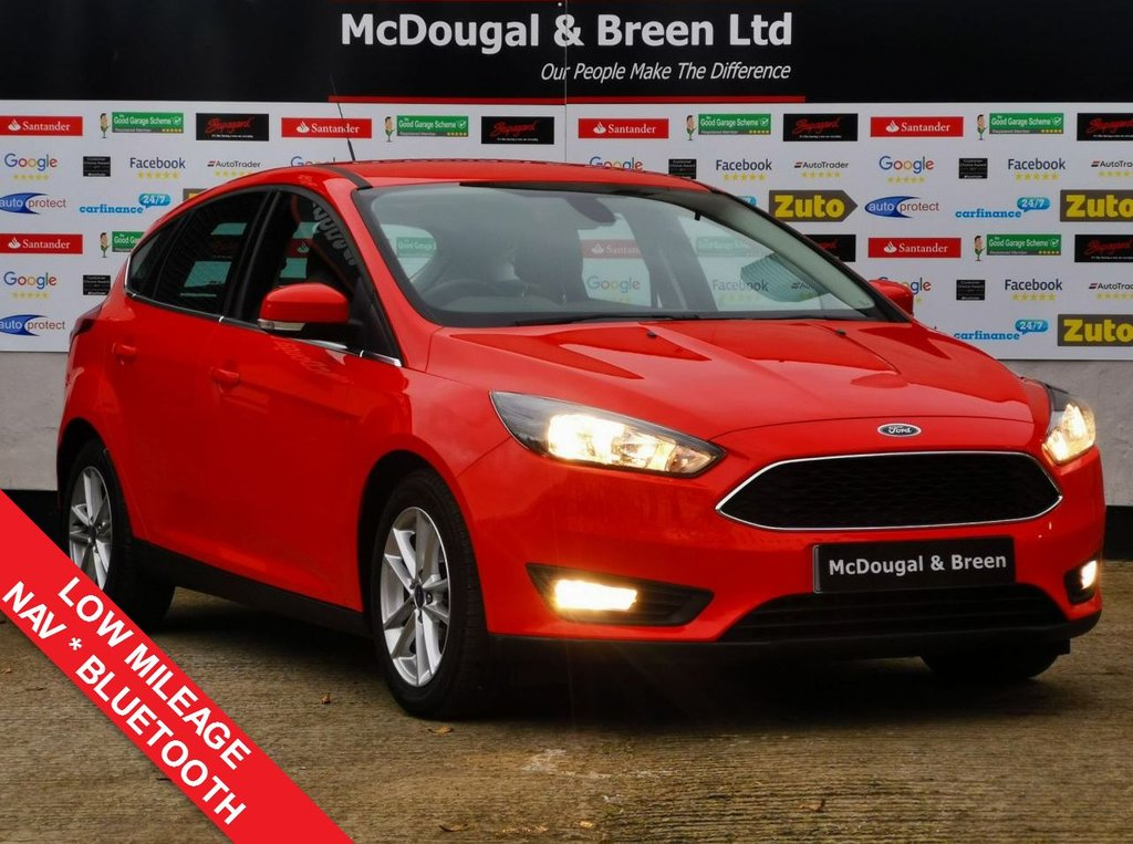 USED 2015 65 FORD FOCUS 1.6 ZETEC TDCI 5d 114 BHP