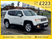 2017 JEEP RENEGADE 1.4 LIMITED 5d 138 BHP £12950.00