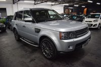 USED 2010 10 LAND ROVER RANGE ROVER SPORT 3.0 TDV6 HSE 5d 245 BHP STUNNING CONDITION - LOW MILES - 7 STAMPS TO 61K - ONE PREVIOUS KEEPER - LEATHER - NAV - FACTORY REAR DVDs - EXTENDED LEATHER - KEYLESS ENTRY - SIDE STEPS