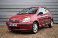 USED 2003 03 TOYOTA YARIS 1.3 COLOUR COLLECTION VVT-I 3d 85 BHP Only 52,000m Toyota History