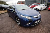 USED 2014 14 VAUXHALL AMPERA 1.4 ELECTRON 5d 150 BHP PARKING AID, TWO TONE LEATHER TRIM. HYBRID CVT MODEL