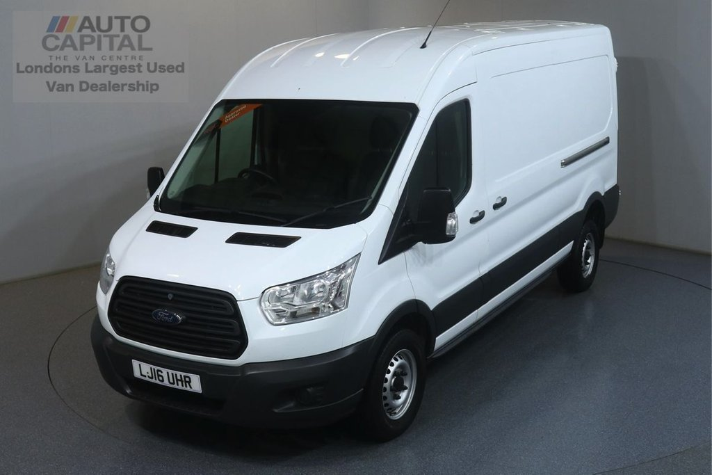 USED 2016 16 FORD TRANSIT 2.2 350 RWD L3 H2 124 BHP  ONE OWNER FROM NEW