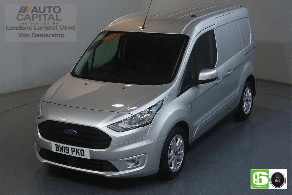 USED 2019 19 FORD TRANSIT CONNECT 1.5 200 LIMITED 119 BHP SWB EURO 6 ENGINE  AIR CON, KEYLESS, PARKING SENSORS, ALLOY WHEEL