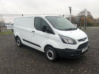 2016 FORD TRANSIT CUSTOM 290 L1 ECO-TEC 100 SWB PANEL VAN £8995.00