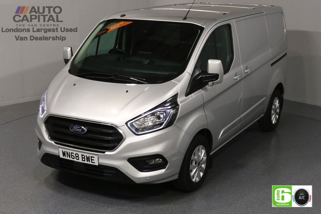 USED 2018 68 FORD TRANSIT CUSTOM 2.0 300 Limited 130 BHP L1 H1 Euro 6 Low Emission Finance Packages Available| Air Con| LED daytime | Sensors | Alloy Wheels
