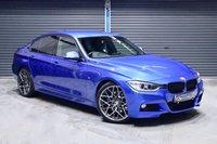 2013 BMW 3 SERIES 330D M SPORT ** ESTORIL BLUE **  £15475.00