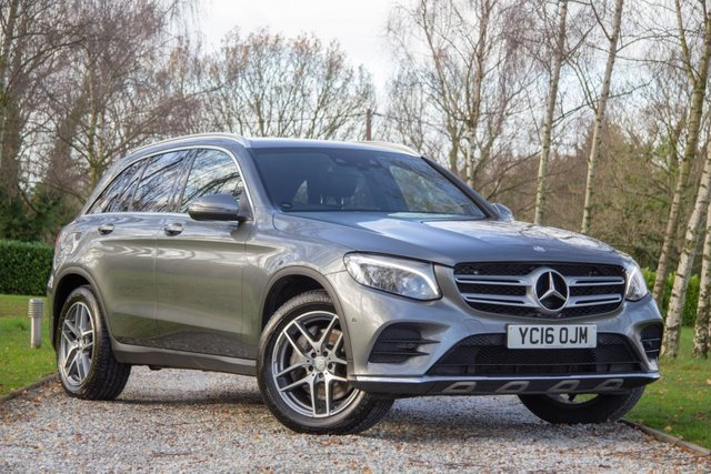2016 16 MERCEDES-BENZ GLC-CLASS 2.1 GLC 250 D 4MATIC AMG LINE PREMIUM PLUS 5d 201 BHP