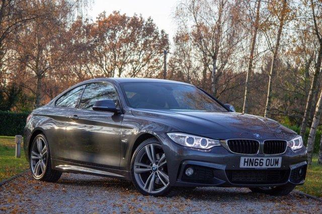 2016 66 BMW 4 SERIES 3.0 430D M SPORT 2d 255 BHP