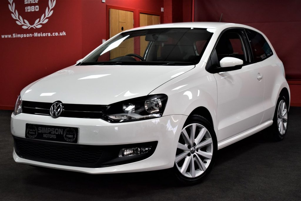 USED 2012 12 VOLKSWAGEN POLO 1.2 MATCH 3d 69 BHP