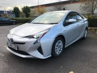 USED 2016 16 TOYOTA PRIUS 1.8 HYBRID VVTI BUSINESS ED AUTO 5 SEATS