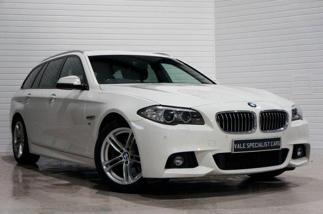 2015 15 BMW 5 SERIES 2.0 520D M SPORT TOURING (SAT NAV)