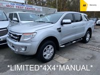 2014 FORD RANGER 2.2 LIMITED 4X4 DCB TDCI 4d 148 BHP Manual *59,000 MILES* £9995.00