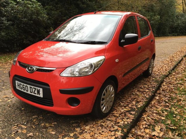 USED 2010 60 HYUNDAI I10 1.2 CLASSIC 5d 77 BHP 1 OWNER AIR CON VERY LOW MILEAGE FINANCE ME TODAY-UK DELIVERY POSSIBLE