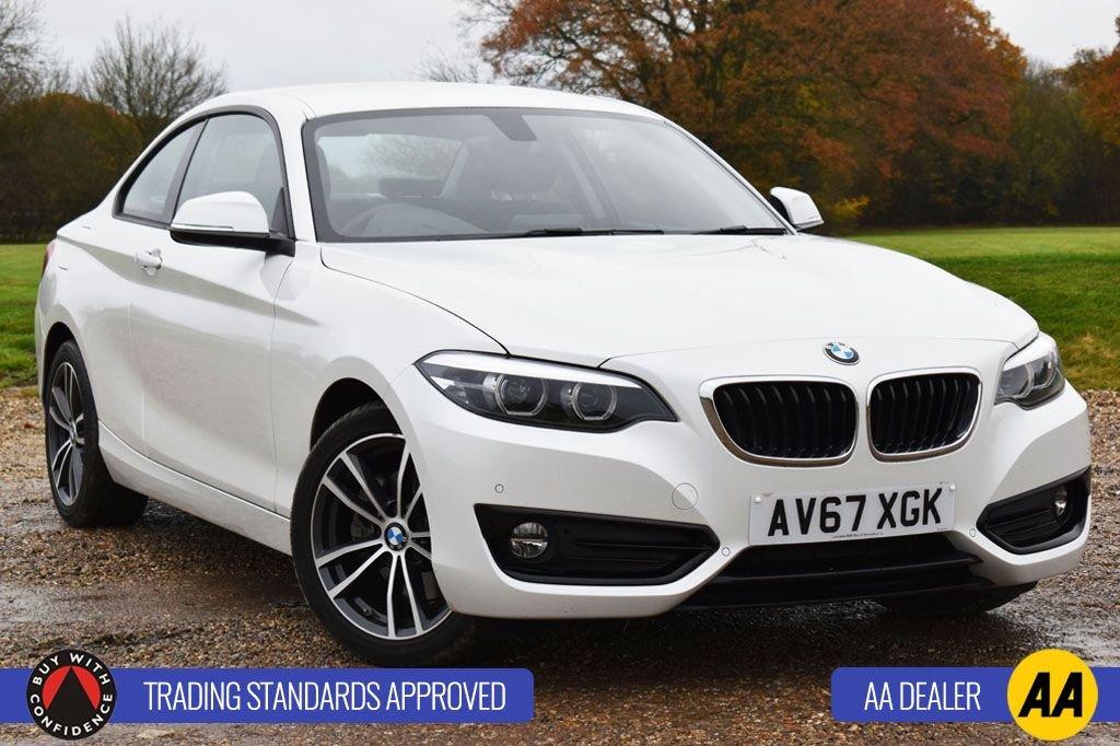 USED 2018 67 BMW 2 SERIES 2.0 220I SPORT 2d 181 BHP