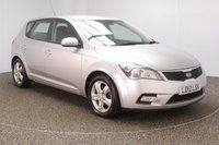USED 2012 12 KIA CEED 1.6 2 5DR AUTO 124 BHP FULL ERVICE HISTORY + BLUETOOTH + CRUISE CONTROL + MULTI FUNCTION WHEEL + AIR CONDITIONING + XENON HEADLIGHTS + RADIO/CD/AUX/USB + ELECTRIC WINDOWS + ELECTRIC MIRRORS + 16 INCH ALLOY WHEELS