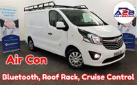 2016 VAUXHALL VIVARO 1.6 2900 CDTI SPORTIVE 115 BHP with Air Conditioning, Cruise Control, Bluetooth, Rear Parking Sensors, Roof Rack and more £8980.00