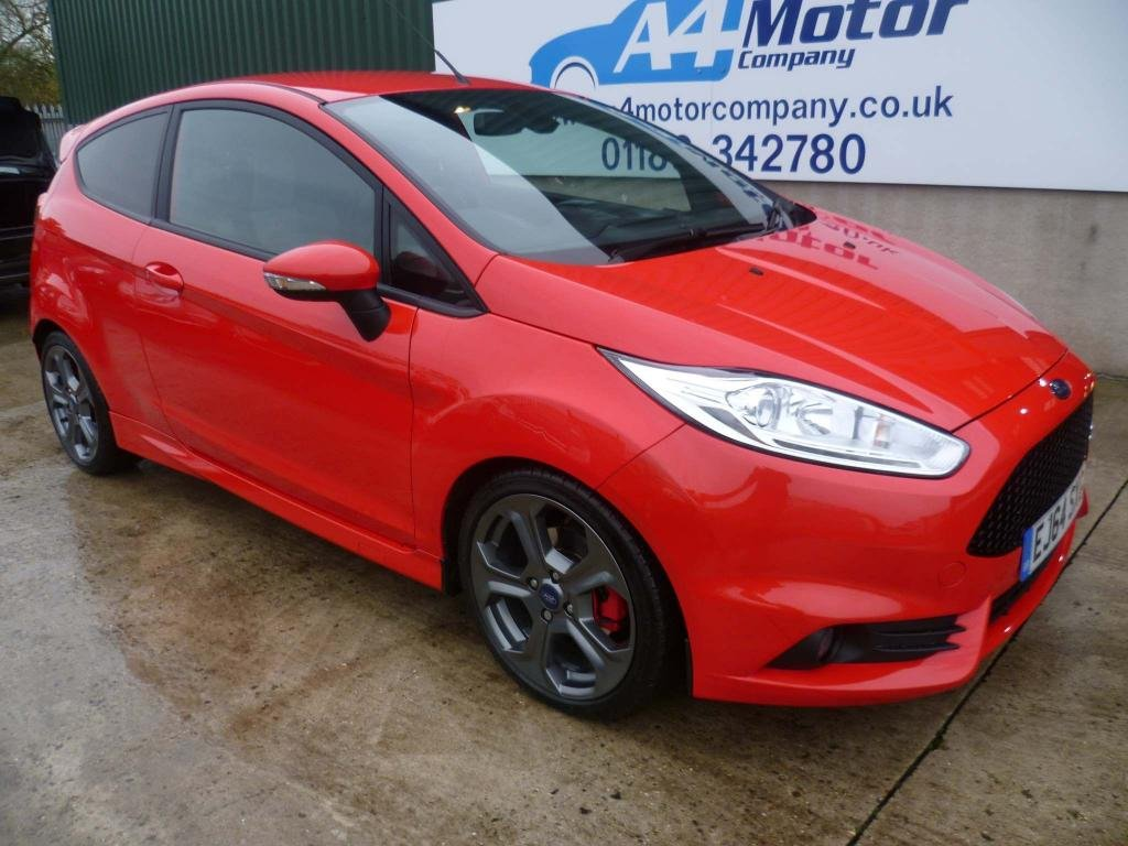 USED 2014 64 FORD FIESTA 1.6 EcoBoost ST-3 3dr RECENT MOT - FINANCE AVAILABLE