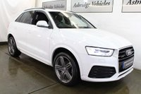 USED 2015 65 AUDI Q3 2.0 TDI S line Plus S Tronic quattro (s/s) 5dr PAN ROOF! BOSE! 1 LADY OWNER!