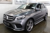 USED 2018 67 MERCEDES-BENZ GLE-CLASS 3.0 GLE350d V6 AMG Line (Premium) G-Tronic 4MATIC (s/s) 5dr PAN ROOF! 360 CAM! 1 OWNER!