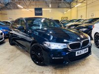 USED 2017 67 BMW 5 SERIES 2.0 520d M Sport Auto (s/s) 4dr 1 OWNER FBMWSH VALUE!