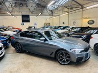 USED 2018 68 BMW 5 SERIES 2.0 520d M Sport Auto (s/s) 4dr M PERFORMANCE KIT 20S! STUNNER
