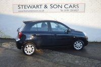USED 2014 14 NISSAN MICRA 1.2 ACENTA 5d 79 BHP CHEAP TAX LOW MILEAGE