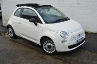 USED 2012 12 FIAT 500 1.2 C POP 3d 69 BHP