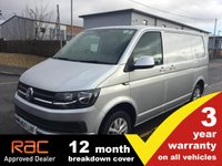 USED 2017 17 VOLKSWAGEN TRANSPORTER T28 SWB Highline 102ps (Tailgate)