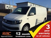 USED 2017 17 VOLKSWAGEN TRANSPORTER T30 LWB Highline 150ps (Sat Nav)