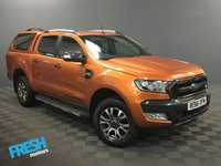 USED 2016 66 FORD RANGER 3.2 WILDTRAK 4X4 DCB TDCI AUTO  * 0% Deposit Finance Available