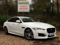 USED 2016 16 JAGUAR XE 2.0 R-SPORT 4dr Sat Nav, 1 Owner, £20 Tax