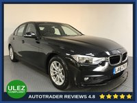USED 2016 16 BMW 3 SERIES 2.0 320D ED PLUS 4d 161 BHP FULL BMW HISTORY - 1 OWNER - SAT NAV - REAR SENSORS - LEATHER - AIR CON - BLUETOOTH - CRUISE
