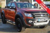 2014 FORD RANGER 3.2 WILDTRAK 4X4 DCB TDCI 4d 197 BHP £17990.00