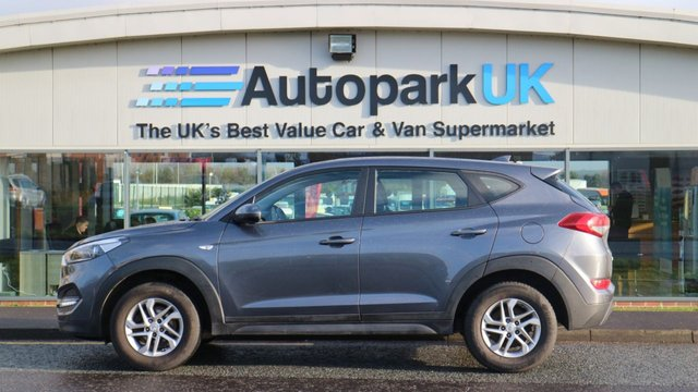 USED 2016 66 HYUNDAI TUCSON GDI S BLUE DRIVE LOW DEPOSIT OR NO DEPOSIT FINANCE AVAILABLE
