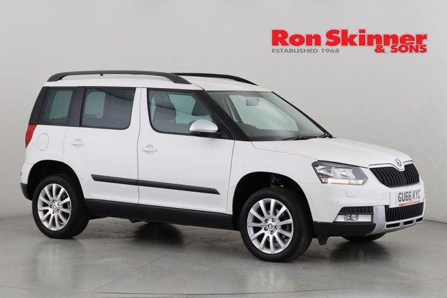 View our 2016 66 SKODA YETI 1.2 OUTDOOR SE TSI DSG 5d AUTO 109 BHP