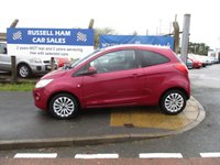 USED 2010 10 FORD KA 1.2 ZETEC 3d 69 BHP £30 Yearly Road Tax. New MOT & Full Service Done on purchase + 2 YEARS FREE MOT TEST & 2 YEARS FULL SERVICE'S INCLUDED. 3 Months Russell Ham Quality Warranty . All Car's Are HPI Clear . Finance Arranged - Credit Card's Accepted . for more cars www.russellham.co.uk  + Spare Key.